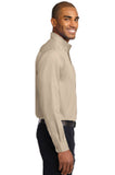 Long Sleeve Easy Care Shirt - Stone