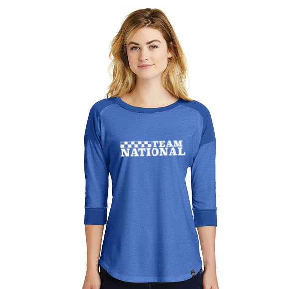 New Era Ladies Heritage Tee - Royal