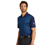 Nike Golf Dri-FIT Mobility Camo Polo - Blue