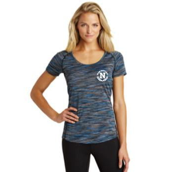 Ogio Endurance Ladies Verge Scoop Neck - Blue