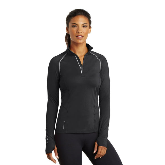 Ogio Ladies Nexus 1/4 Zip - Blacktop