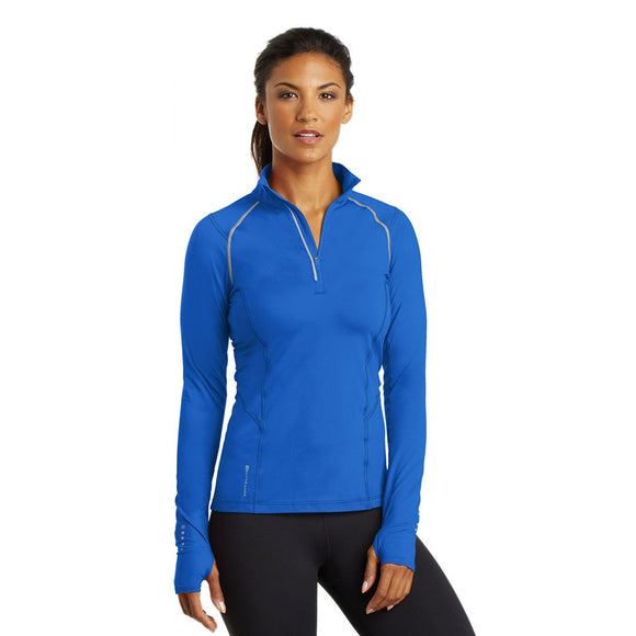 Ogio Ladies Nexus 1/4 Zip - Electric Blue