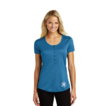 OGIO® Ladies Orbit Henley - Blue