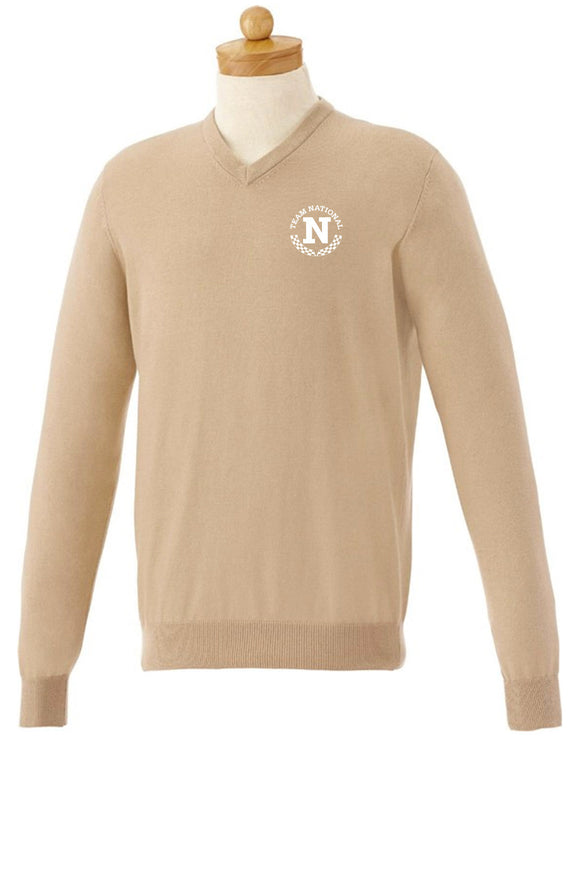 M-Osborn V-Neck Sweater - Cream