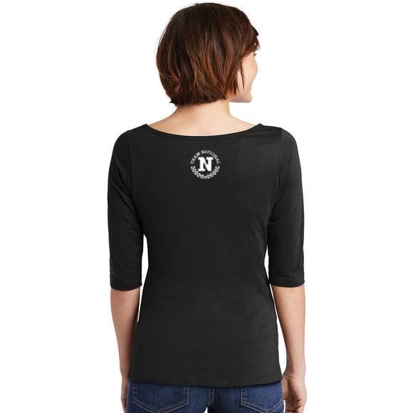 Perfect Weight 3/4 Sleeve - Jet Black