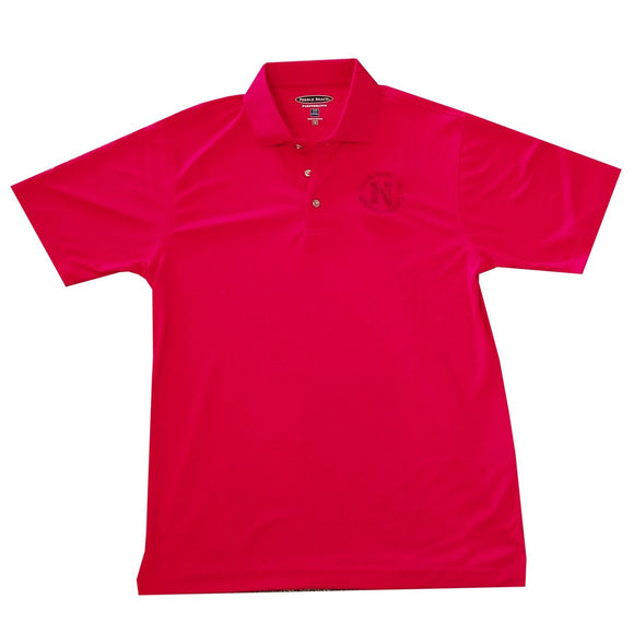 Pebble Beach Red Polo w/ Logo