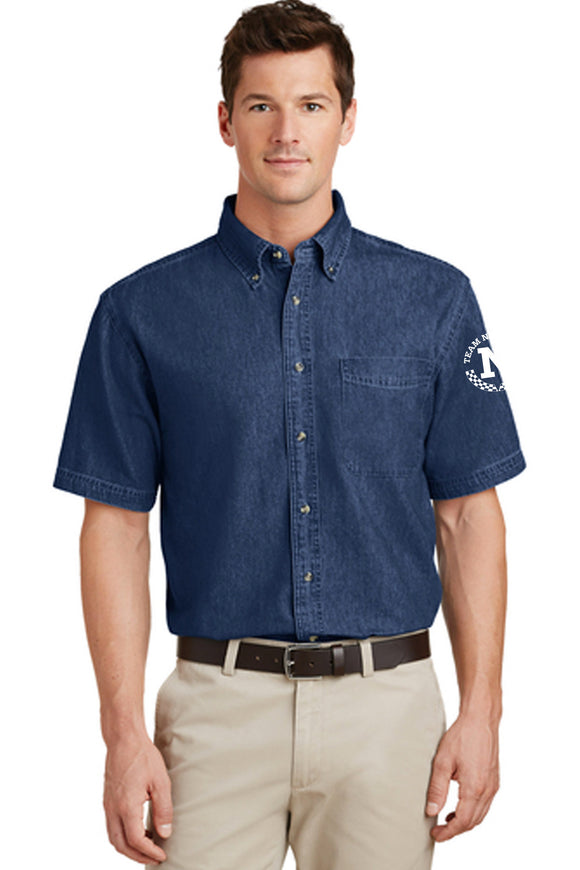 Short Sleeve Denim Value Shirt