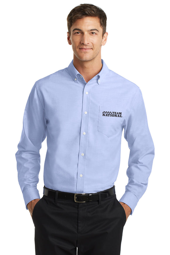Superpro Oxford Shirt - Blue