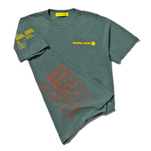 MICRODOSING 101 T-SHIRT (Blue Spruce/Yellow/Red)