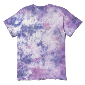 ALTERNATE PLANES TIE-DYE (Purple/Coral)