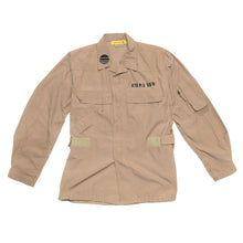BURNING MONK 4-Pocket Ripstop Military Jacket