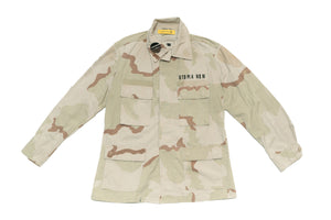 BURNING MONK Desert Storm Military Jacket