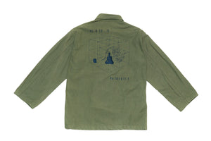 BURNING MONK Military Jacket