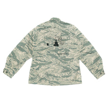 BURNING MONK Camouflage Air Force Jacket