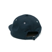 DROP 1 Five-Panel Hat (Navy/White)