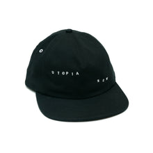DROP 1 Five-Panel Hat (Black/White)