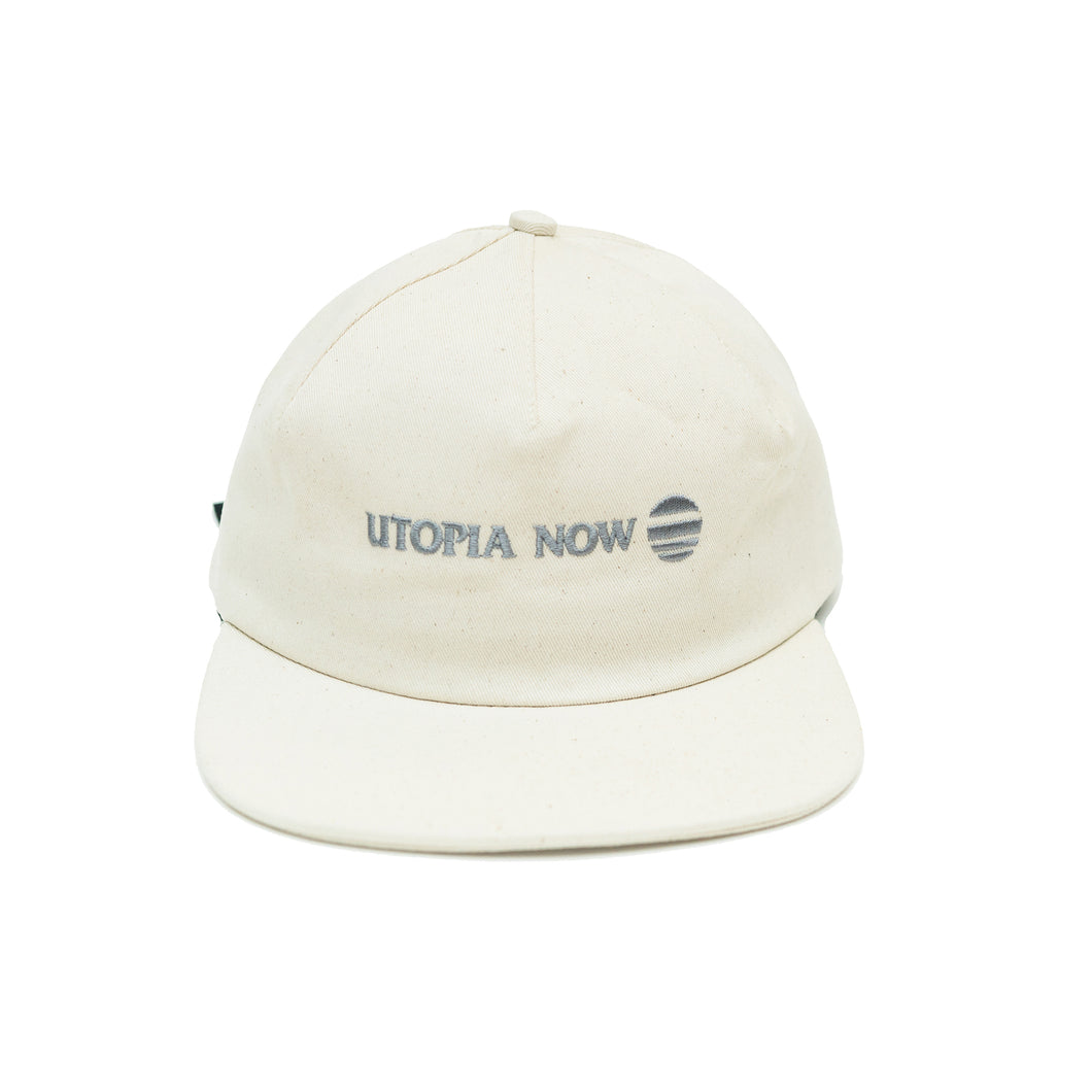 DROP 1 One-Panel Hat (Speckled Natural/Grey)