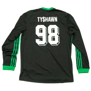 "adidas SB ""TY$HAWN"" SOCCER JERSEY for TYSHAWN JONES (Men's Large)"
