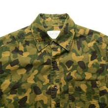 SHADES OF GREY CAMOUFLAGE L/S BUTTON-UP SHIRT (Men's Medium)