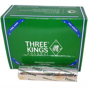 Dusty Rose Essentials : Three Kings Premium Coconut Charcoal Briquettes 33mm: One Roll of 10