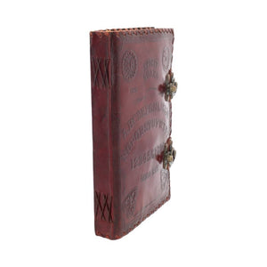 Load image into Gallery viewer, Dusty Rose Essentials : Large Leather Journal : Ouija Board with Double Lock