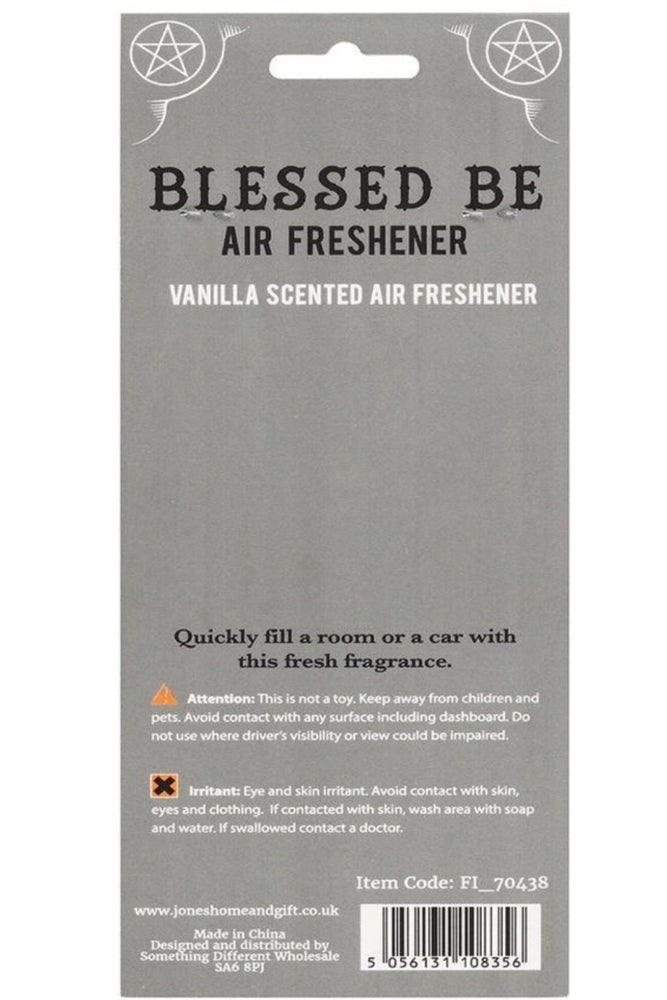 Load image into Gallery viewer, Blessed Be Air Freshener : Vanilla