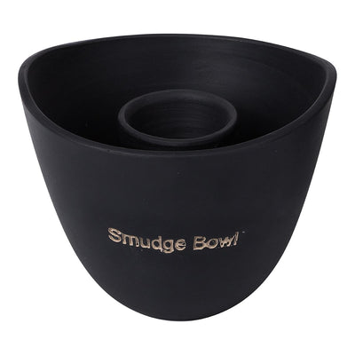 Dusty Rose Essentials : Smudge Bowl : Black 10 cm x 13 cm