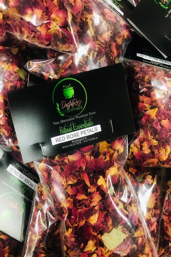 Dusty Rose Essentials Red Rose Petals Herb