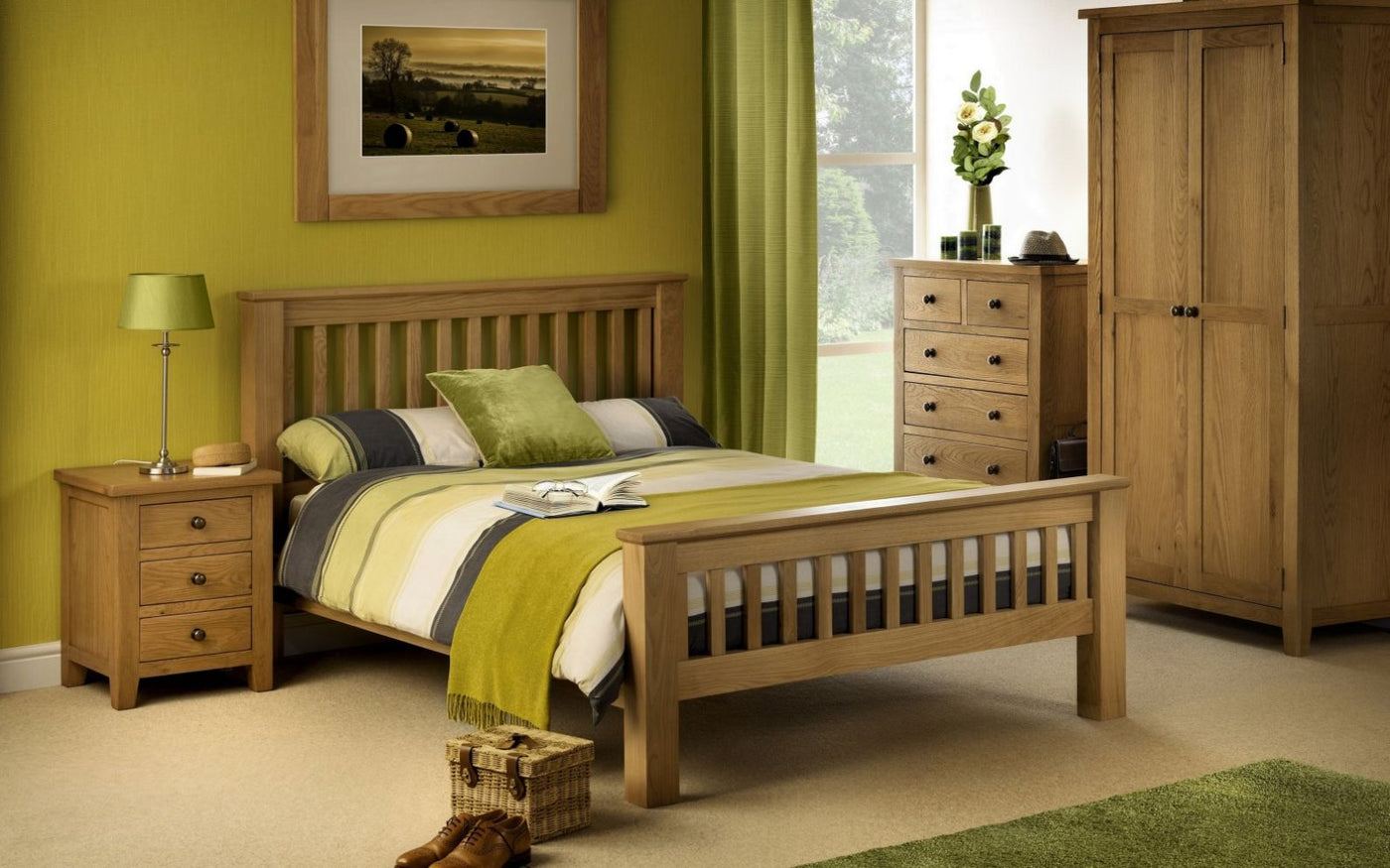 Marlborough Oak Bedroom