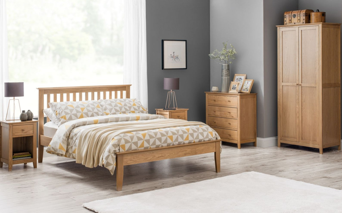 Salerno Oak Bedroom