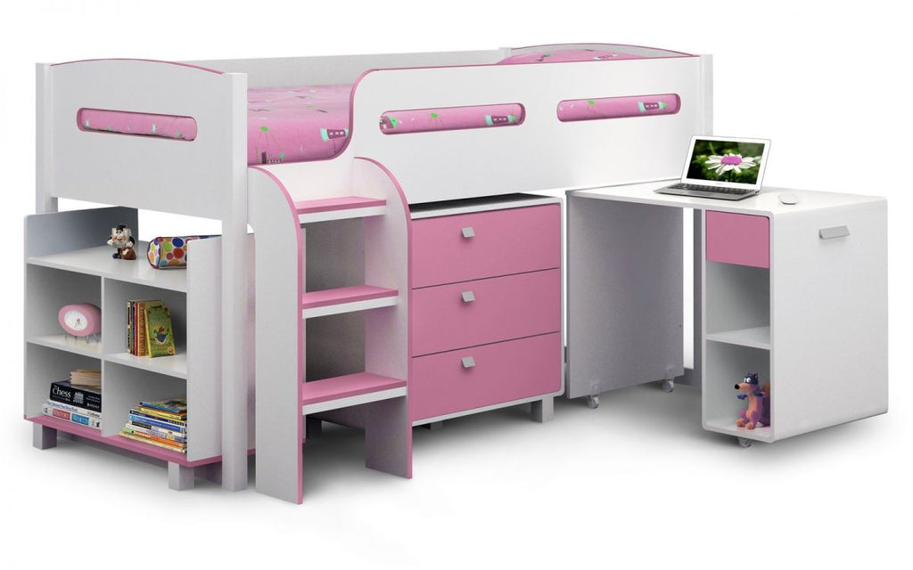 Kimbo Cabin Bed - Pink