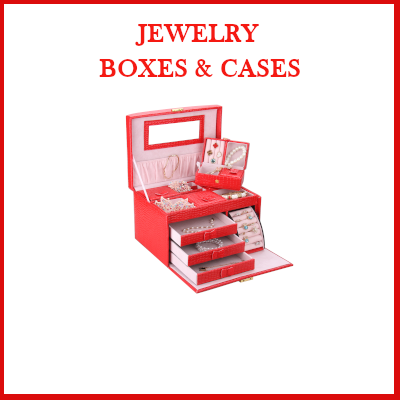 Gifts actually - Quality Jewelry Boxes and Cases.