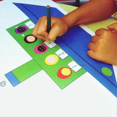 Gifts Actually - Shapeeze A4 activity pad 3-6 years - Numeracy Development