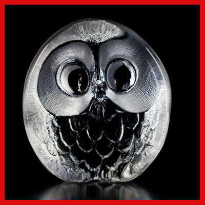 Gifts Actually - Mats Jonasson Crystal - Owl (33269)