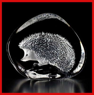 Gifts Actually - Mats Jonasson Crystal - Hedgehog (33366)