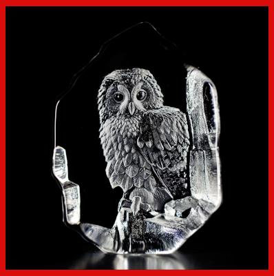 Gifts Actually - Mats Jonasson Crystal - Tawny Owl (33602)