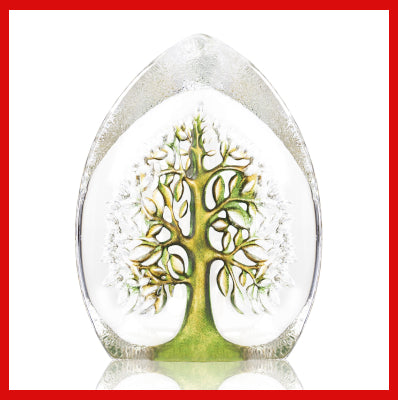 Gifts Actually - Mats Jonasson Crystal - Tree of Life Green - (Yggdrasil) (34040)