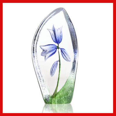 Gifts Actually - Mats Jonasson Crystal - Floral Fantasy - Bluebell (34214)