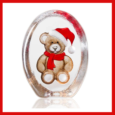 Gifts Actually - Mats Jonasson Crystal - Teddy Bear (34258)