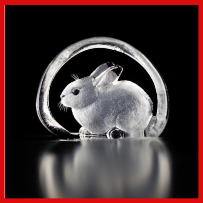 Gifts Actually - Mats Jonasson Crystal - Bunny Rabbit (88101)