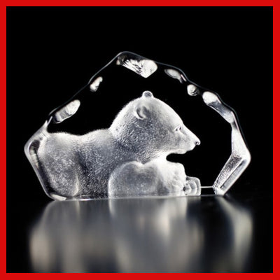 Gifts Actually - Mats Jonasson Crystal - Bear Cub (88109)