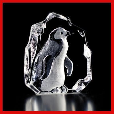 Gifts Actually - Mats Jonasson Crystal - Penguin (88113)