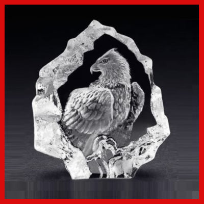 Gifts Actully - Mats Jonasson Crystal - Bald Eagle (88124)