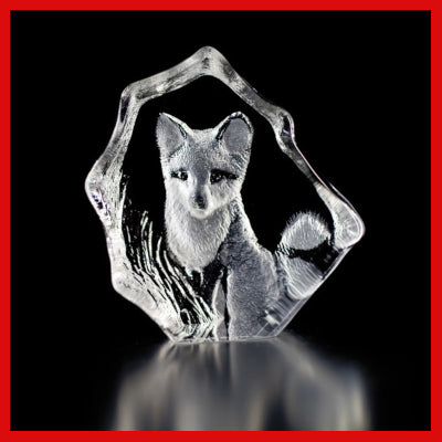 Gifts Actually - Mats Jonasson Crystal - Fox (88132)