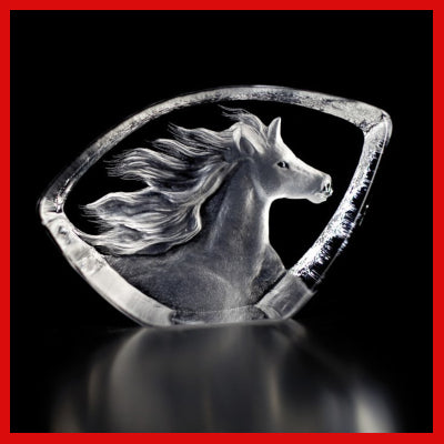 Gifts Actually - Mats Jonasson Crystal - Horse (88146)