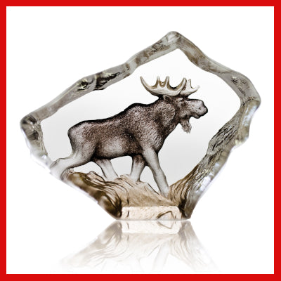 Gifts Actually - Mats Jonasson Crystal - Moose (88169)