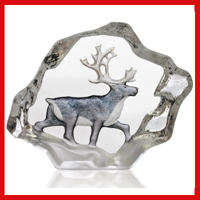 Gifts Actually - Mats Jonasson Crystal - Reindeer (88170)