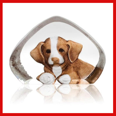 Gifts Actually - Mats Jonasson Crystal - Puppy (88171)