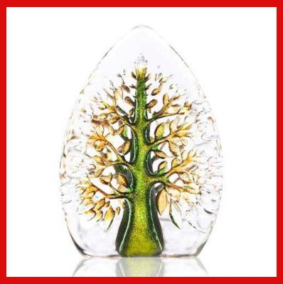 Gifts Actually - Mats Jonasson Crystal - Tree of Life Green - (YGGDRASIL) (88214)