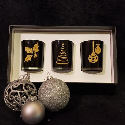 Christmas Gift Box (Black) - Soy Wax Candles